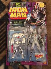 1995 Iron Man Arctic Armor Launching Claw Action Figure Toy Biz Marvel - Estate