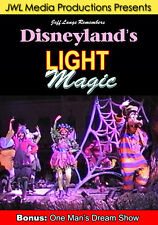 Disneyland DVD Light Magic Parade From 2 Locations, Vintage One Man's Dream Show