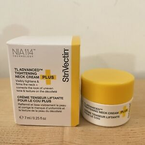StriVectin TL Advanced Tightening Neck Cream Plus 0.5 Oz TOTAL 0.25 Each NIB