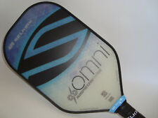 ALL NEW SELKIRK AMPED X5 OMNI  PICKLEBALL PADDLE FIBER FLEX  SAPPHIRE BLUE
