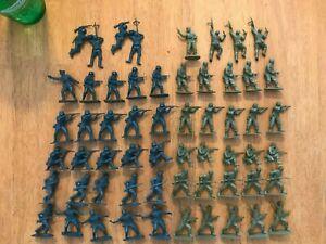 Airfix Vintage 1/32 Scale WWII German Infantry & British Commandos 58 figures