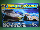 SCALEXTRIC C1319 Continental Sports Cars Race GT1 v GT Prototype set 1:32