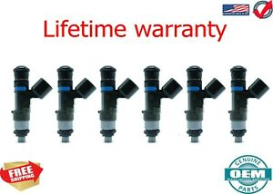 X6 OEM Bosch Fuel Injectors Rebuilt by Master ASE Mechanic USA 0280158055