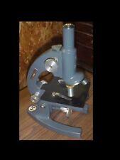 Rare Vintage Bausch Amp Lomb Monocular 10x Amp 43x Compound Microscope Oakland City