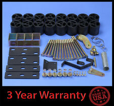 "97-02 Ford F150 F250 2WD 4WD 3"" Full Body Lift kit Front & Rear"
