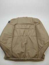 New OEM Honda Accord 2 Door Coupe Right Leather Front Seat Upper - Tan