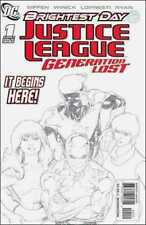 JUSTICE LEAGUE GENERATION LOST #1 2nd Print Sketch Variant DC Rare Low run