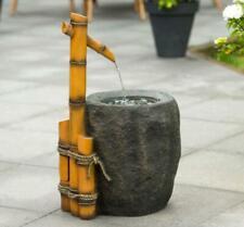 Ubbink PIGADIA Wasserspiele für die Terasse Bambus- Steinoptik