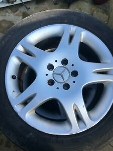 MERCEDES S CLASS FITS VITO SET OF 4 ALLOY WHEELS WITH TYRES  225/55/R17