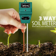 3-in-1 Sonkir Soil pH Meter MS02 Soil Moisture/Light/pH Tester Gardening Tool US