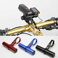 MTB Cycling Bike Handlebar Extension Mount Bicycle Light Holder Extender Bracket