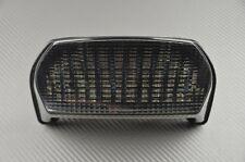 Feu arrière fumé clignotant intégré tail light Kawasaki ZX7RR ZX-7R 96 97 98 03