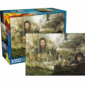 The Lord of the Rings Saga GIANT 3000 piece jigsaw puzzle 1150mm x 820mm  (nm)