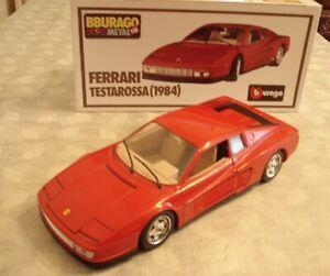 FERRARI TESTAROSSA 1/18 1984 BURAGO