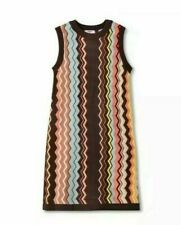 Missoni for Target Colore Zig Zag Sweater Dress Size XL, 20th Anniversary NWT