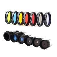 "1.25""Eyepiece Filter Kitt Filters Kit+1.25""5xFully Coated.Eyepiece Kit+2X Barlow"