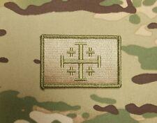 Jerusalem Cross Multicam Morale Patch Crusader Infidel Modern Templar