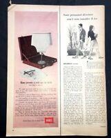 Life Magazine Ad HANES BRIEFS 1965 AD