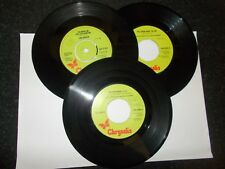 LEO SAYER - 3 SINGLES AS LISTED BELOW     **FREE P&P**