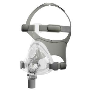 Fisher & Paykel Simplus CPAP Full Face Maske Mund-Nasen-Maske, mit Kopfband, OVP