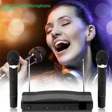 More details for professional karaoke machine system party twin microphone sing singing dance uk