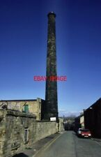 PHOTO  1994 BURNLEY OAK MOUNT MILL THE CHIMNEY SURVIVES BUT THE BOILER HOUSE HAS
