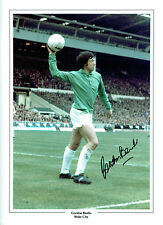 Gordon BANKS Signed Autograph Stoke City Goalkeeper LEGEND 16x12 Photo AFTAL COA