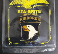 US Army 101st Airborne Division Combat Service Identification ID Badge ( CSIB )
