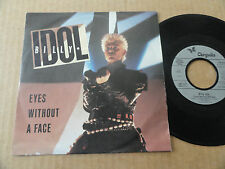 "DISQUE 45T DE BILLY IDOL   "" EYES WITHOUT A FACE """