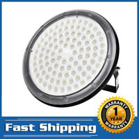 100W UFO LED High Bay Light Gym Factory Warehouse Industrial Shed Waterproof US