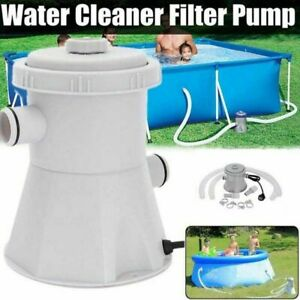 220V Electric Swimming Pool Filter Pump Water Cleaning System Above Ground Pools