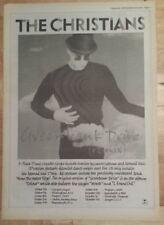 Christians Greenbank drive  1990 press advert Full page 27 x 38 cm mini poster