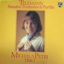 Telemann(Vinyl LP)Sonatas, Fantasias&Partita-UK-9500 941-Philips