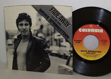 "Bruce Springsteen Fade Away / Be True 1981 7"" 45 w/ Pic Slv Ex/N Mint"