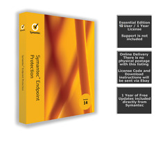Symantec Endpoint Protection 14.0 / 10 User - Essential Edition(Online Delivery)