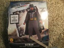 Batman (Justice League) Child Costume- Size Med (8-10)- Never Worn