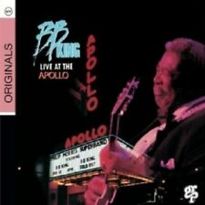 B.B. KING - LIVE AT THE APOLLO  CD  10 TRACKS BLUES POP / ROCK CONCERT  NEU