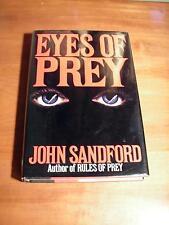 EYES OF PREY by John Sandford (1991, Hardcover) -1st Ed.- RARE- VERY NICE