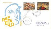 FDC Venetia Italia Repubblica 1970 - Raffaello Sanzio - non viaggiata - Roma fil