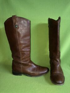 Redish Brown Frye Boots 9