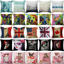 "18"" Ghost bride Pillow Case Cotton Linen Sofa Car Chair Home Decoration"