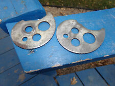 REAR WHEEL CHAIN ADJUSTERS  1986 HONDA TLR 200 TLR200 REFLEX