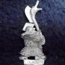 1999 Dwarf Thunderer Musician Hornblower Citadel Thunderers Warhammer Army GW