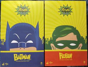Hot Toys MMS218 + MMS219 Batman & Robin 1966 TV Series - Adam West - Burt Ward