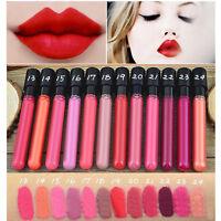 NEW Maquillage Crayon à Lèvres Rouge à Lèvres Mat Gloss durable liquide étanche