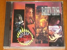 BARREN CROSS - HOTTER THAN HELL! LIVE - CD - RARE ORIGINAL MEDUSA RELEASE 1990