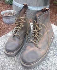 Vintage England Dr. Martens 1460 Brown Leather Boots Size 5