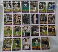 2006 Topps Series 1 & 2 Minnesota Twins Team Set of 23 Baseball Cards