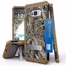 For Galaxy S8+ Plus Tri Shield Armor Kickstand Design Cover Case HUNTER CAMO