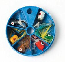 Eagle Claw LUPOPASST Fishing Dial Box Popper Assortment-6pk-FREE Ship